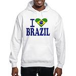 I love Brazil Hooded Sweatshirt