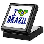 I love Brazil Keepsake Box