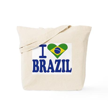 I love Brazil Tote Bag