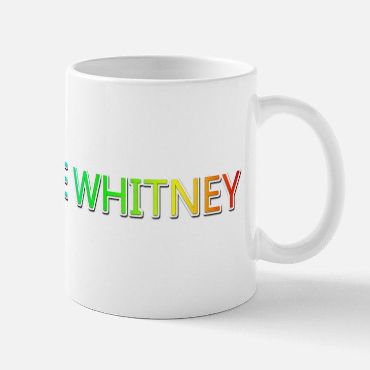 Peace Love Whitney Mugs