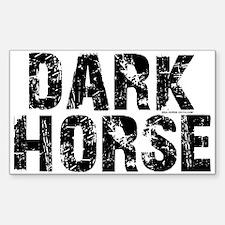 Dark Horse. Attitude Rectangle Decal