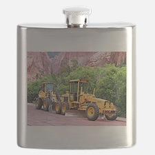 Motor grader & tool carrier Flask