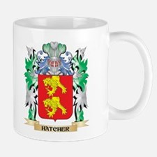 Hatcher Coat of Arms (Family Crest) Mugs