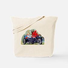 Cute Sidecar Tote Bag