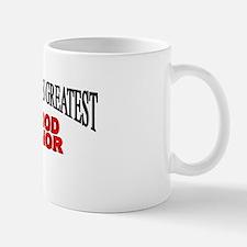 """The World's Greatest Blood Donor"" Mug"