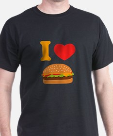 I Love Cheeseburgers T-Shirt