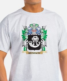 Hathaway Coat of Arms (Family Crest) T-Shirt