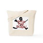 HOCKEY - hack the bone Tote Bag