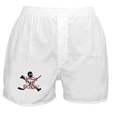 HOCKEY - hack the bone Boxer Shorts