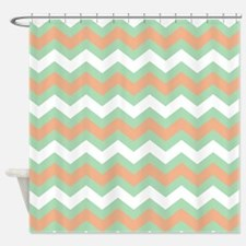 Peach Colored Shower Curtains Peach Colored Fabric Shower