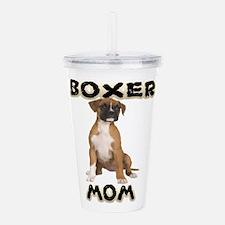 Boxer Mom Acrylic Double-wall Tumbler