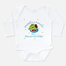 Cute Rule of law Long Sleeve Infant Bodysuit