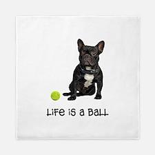 French Bulldog Life Queen Duvet