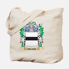 Hauser Coat of Arms (Family Crest) Tote Bag