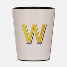 W Shot Glass