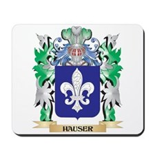 Hauser Coat of Arms (Family Crest) Mousepad