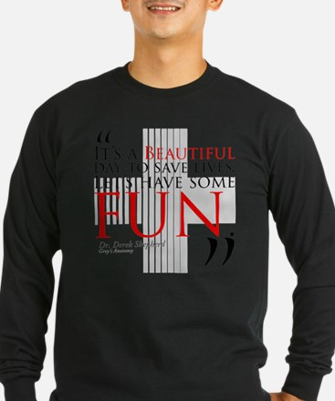 Beautiful Day to Save Lives Long Sleeve T-Shirt