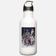 Civil War Christmas in Gettysburg Water Bottle
