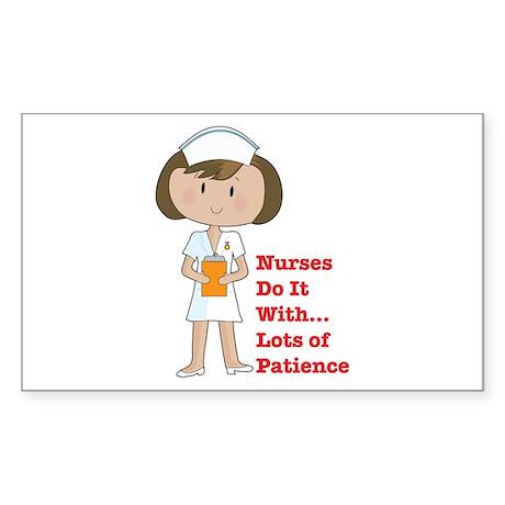 Doctors Do It.... Rectangle Sticker