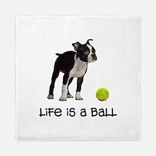 Boston Terrier Life Queen Duvet
