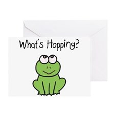 What's Hopping? Greeting Card