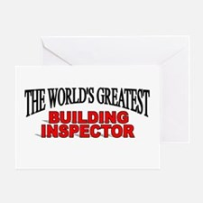 """The World's Greatest Building Inspector"" Greeting"