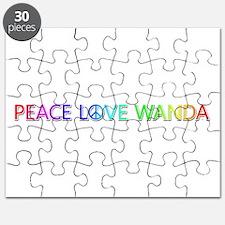 Peace Love Wanda Puzzle
