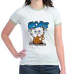 HOPS - sudsy fun for everyone Jr. Ringer T-shirt