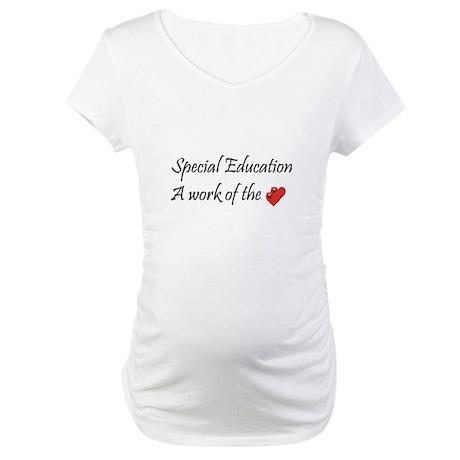 Special Education Teacher Maternity T-Shirt