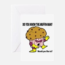 The Muffin Man Greeting Cards
