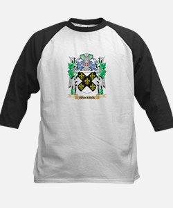 Hawkins Coat of Arms (Family Crest Baseball Jersey