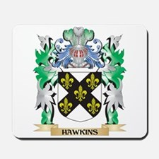 Hawkins Coat of Arms (Family Crest) Mousepad