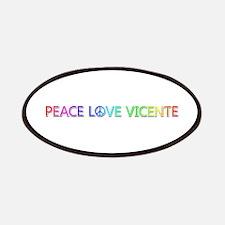 Peace Love Vicente Patch