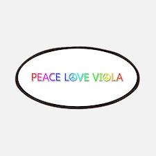 Peace Love Viola Patch