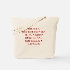 apathy Tote Bag