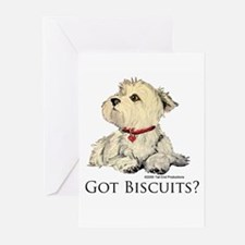 Funny Westie Greeting Cards (Pk of 20)