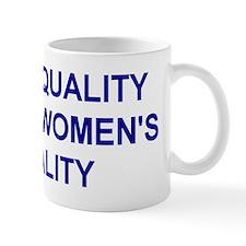 """""""Men of Quality"""" Mug"""