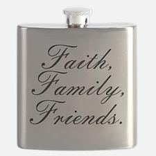 Faith, Family, Friends, Flask