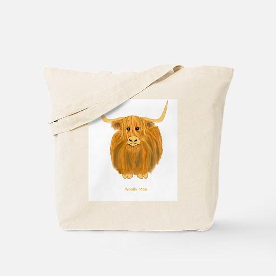 Woolly Moo Tote Bag