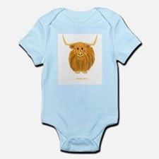 Woolly Moo Infant Bodysuit