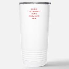 victim Travel Mug