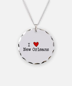 I Love New Orleans Necklace