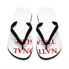 national treasure Flip Flops
