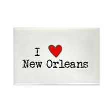 I Love New Orleans Magnets
