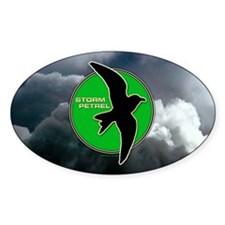 Storm Petrel Oval Decal