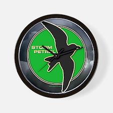 Storm Petrel Wall Clock