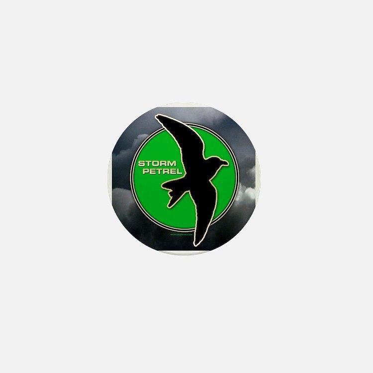 Storm Petrel Mini Button