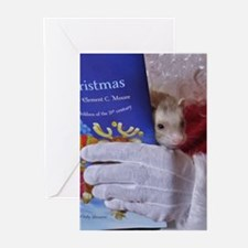 Cool Ferret christmas Greeting Cards (Pk of 20)