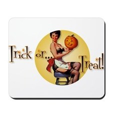 Trick or...Treat! Mousepad