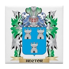 Hector Coat of Arms (Family Crest) Tile Coaster